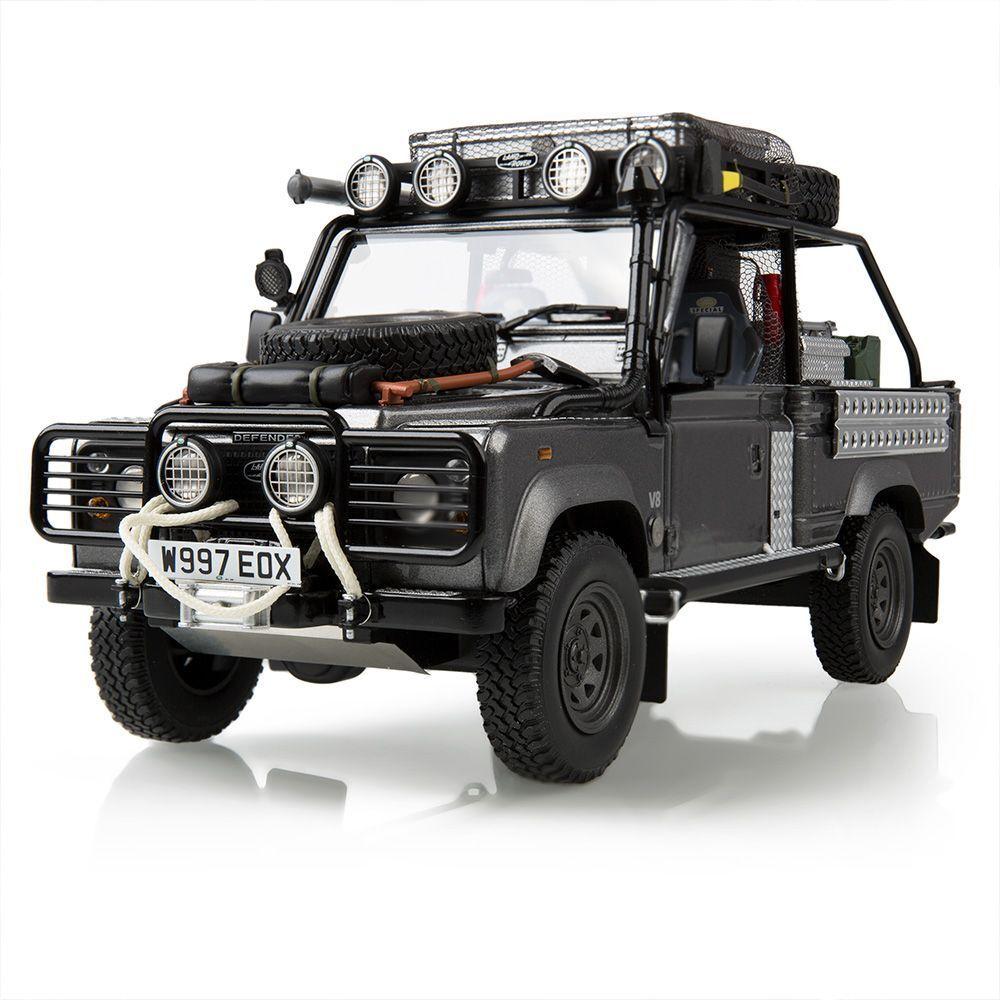 Genuine LAND Rover Defender MOVIE EDITION TOMB RAIDER modello IN SCALA 1:18