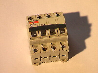 MERLIN GERIN 16 Amp TYPE C 10kA Triple Pole MCB Disjoncteur C60HC 25673