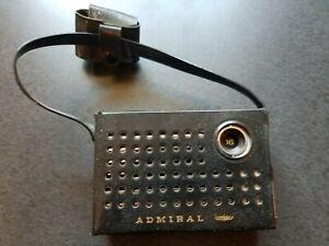 Vintage 1965 Admiral Portable 8 Transistor Radio YH371GP & Original Case