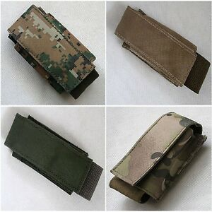 New Airsoft Tactical Molle Single 40mm Shell Pouch Nylon