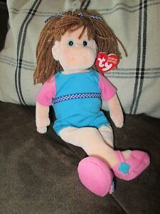 """""""Bubbly Betty""""  Ty Beanie Boppers Toy Plush Doll 2001 NWT's Oakbrook, IL"""