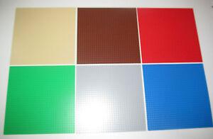 Lego-Plaque-Base-32x32-Tenons-Plate-Platten-Choose-Color-ref-10700-3811-NEW