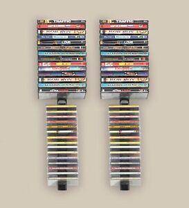 Image Is Loading 60 Cd Dvd Storage Wall Organizer Rack Media
