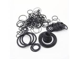 O-Ring Seals Buna-N; 3mm X 6mm X 1.5mm Width; Sealing Gasket Pack of 10