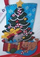 Bucilla Christmas Stocking Kits.Bucilla 86899e Seasonal Felt Stocking Kits The Pawfect Gift