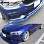 PU Fits 17-19 BMW G30 5 Series M-Tech M Sport Front Bumper Splitter