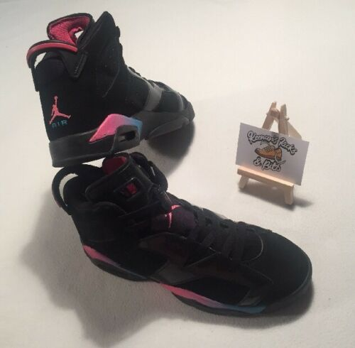 Rainbow Nike Gs 543390 050 Negro 6 Vi Trainers azul 'raro Jordan Retro Uk rosa Z8rZq