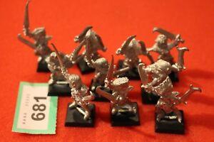 Jeux Atelier Régiment de Warhammer Elfes Sorcières Elfes Sorcières 10 X Armée Maraudeur