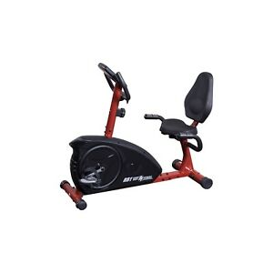 Stationary recumbent bike for home gym cardio best fitness bfrb1