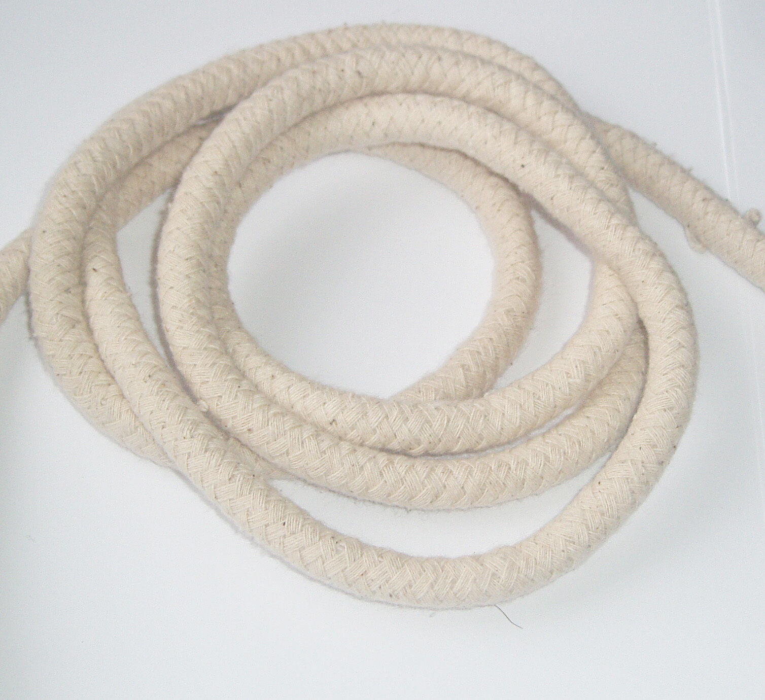 100% Natural Cotton Braided Rope General Soft  Sash Cord Bondage Bag String