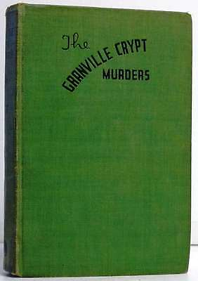 The Granville Crypt Murders.Burt, Melville..Book.Good