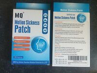60 Motion Sickness Patches Herbal Usa Seller Three Boxes Car Cruise Free Shippin
