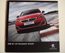 Peugeot . 308 . Peugeot 308 GTi . October 2015 Sales Brochure