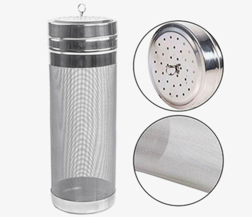 Stainless Steel 300 Micron Ultra Fine Mesh Brewing Beer Hopper Filter Strainer