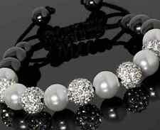 4pcs/lot 10mm disco men women Wholesale Beads Crystal Shamballa Bracelet bangle