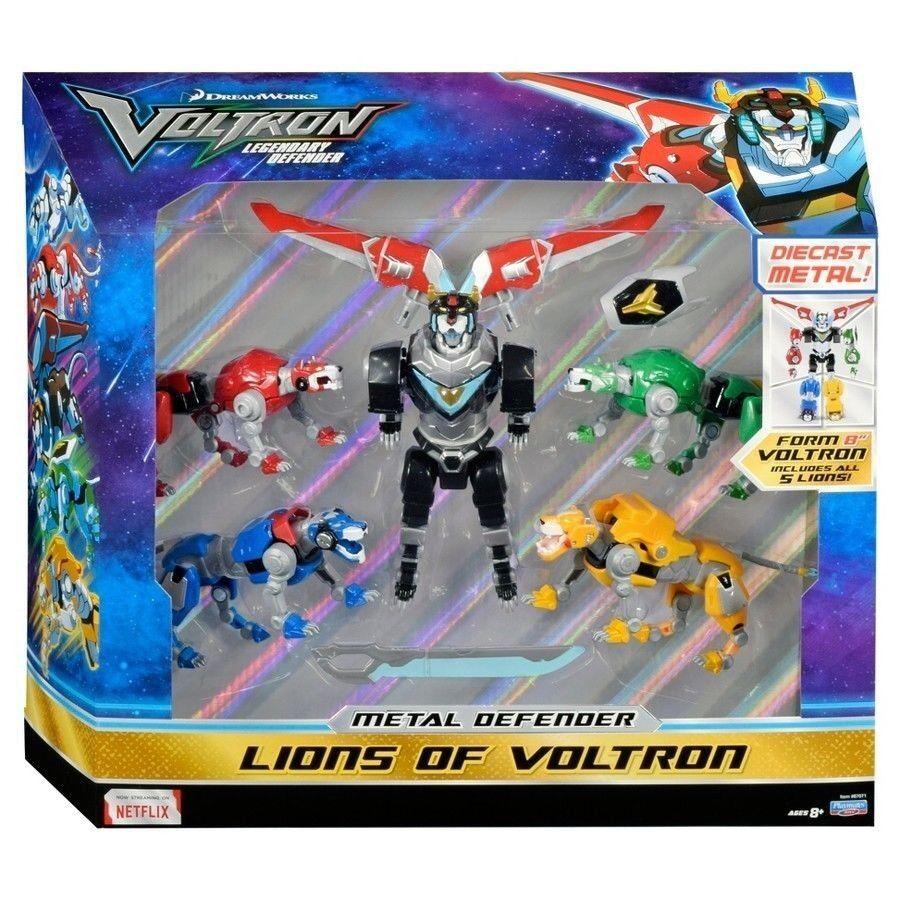 TARGET Exclusive Voltron Figure 5  Defender Lions Collectible