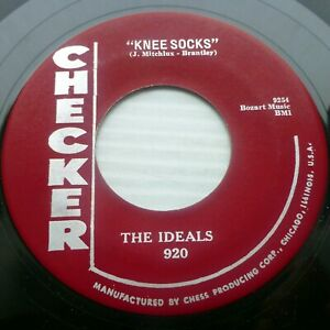 Details about IDEALS doo-wop 45 VG++ 1st pressing CHECKER 920 Knee Socks /  Mary's Lamb CT2323