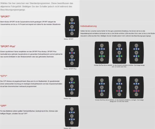 DTE pedalbox 3 S pour KIA SORENTO 147 Kw 01 2015-2.2 Crdi 4x4 Tuning gaspedalbox