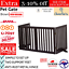 thumbnail 1 - Pet Gate Step Over Dog Gate Freestanding Assembly-Free Puppy Foldable Fence New