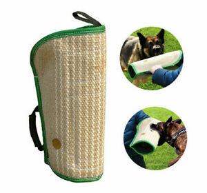 Jute-Dog-Bite-Sleeve-Arm-Protect-K9-Young-Dogs-Training-Toys-for-Schutzhund-US