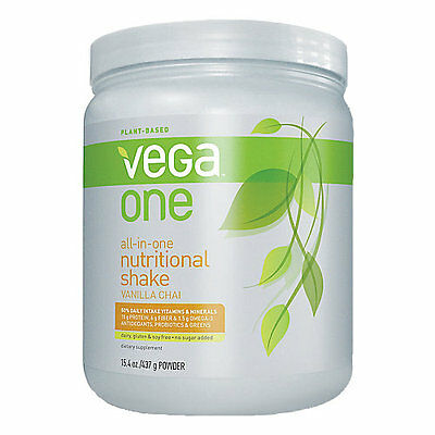 Vega One All in One Shake - 15.4 oz Powder Vanilla Chai