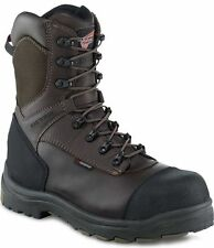 3248 RED WING MEN'S 9-INCH SAFETY BOOT BROWN (UK 11)