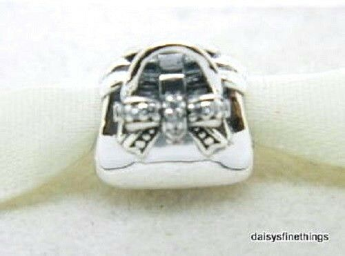 b952b378d Authentic PANDORA Sterling Silver 925 Ale Sparkling Handbag CZ 791534CZ  Charm for sale online | eBay