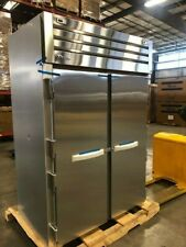 1530 True Stg2dt 2s 53 Two Section Commercial Refrigerator Freezer