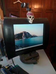 TV Televisore PC computer barca Disney Pirati dei Caraibi skull ship collectible