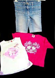 Details zu ☆Bekleidungspaket*Mädchen ü.65Teile KleidHosenJackenSchuhe Pullover z.B.Adidas