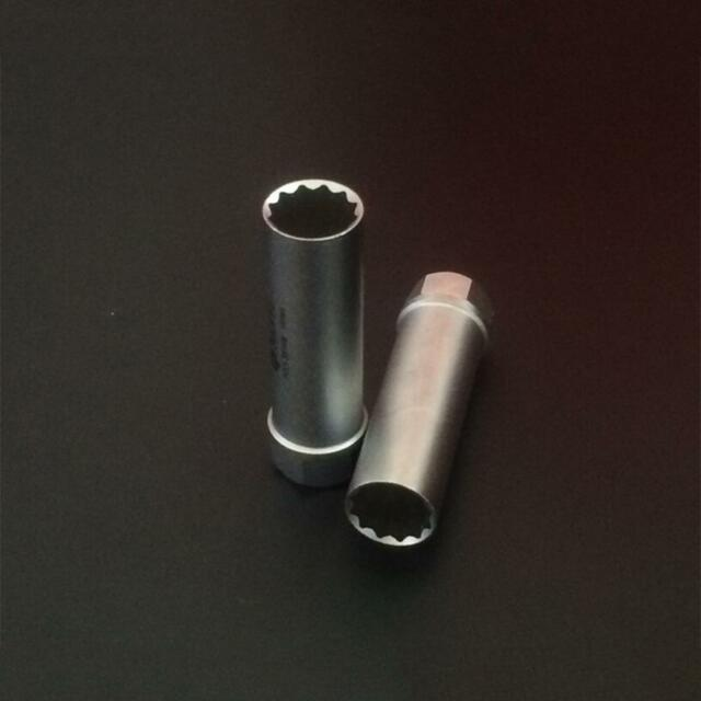 "Sealey 14mm 3/8"" Drive 12 Point Spark Plug Socket Magnetic Card forCar Fb8R"