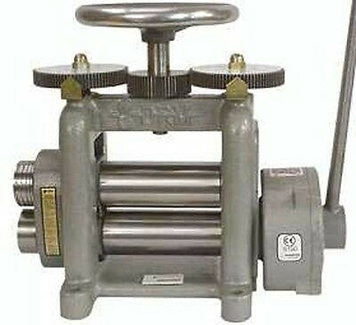 New Durston Goldpro Drm F150 Hand Powered Roll Rolling Mill For Sheet Metal Ebay