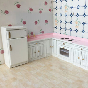 1-12-Kid-Toy-Barbie-Doll-House-Home-Miniature-Furniture-Living-Rooms-DIY-NEW