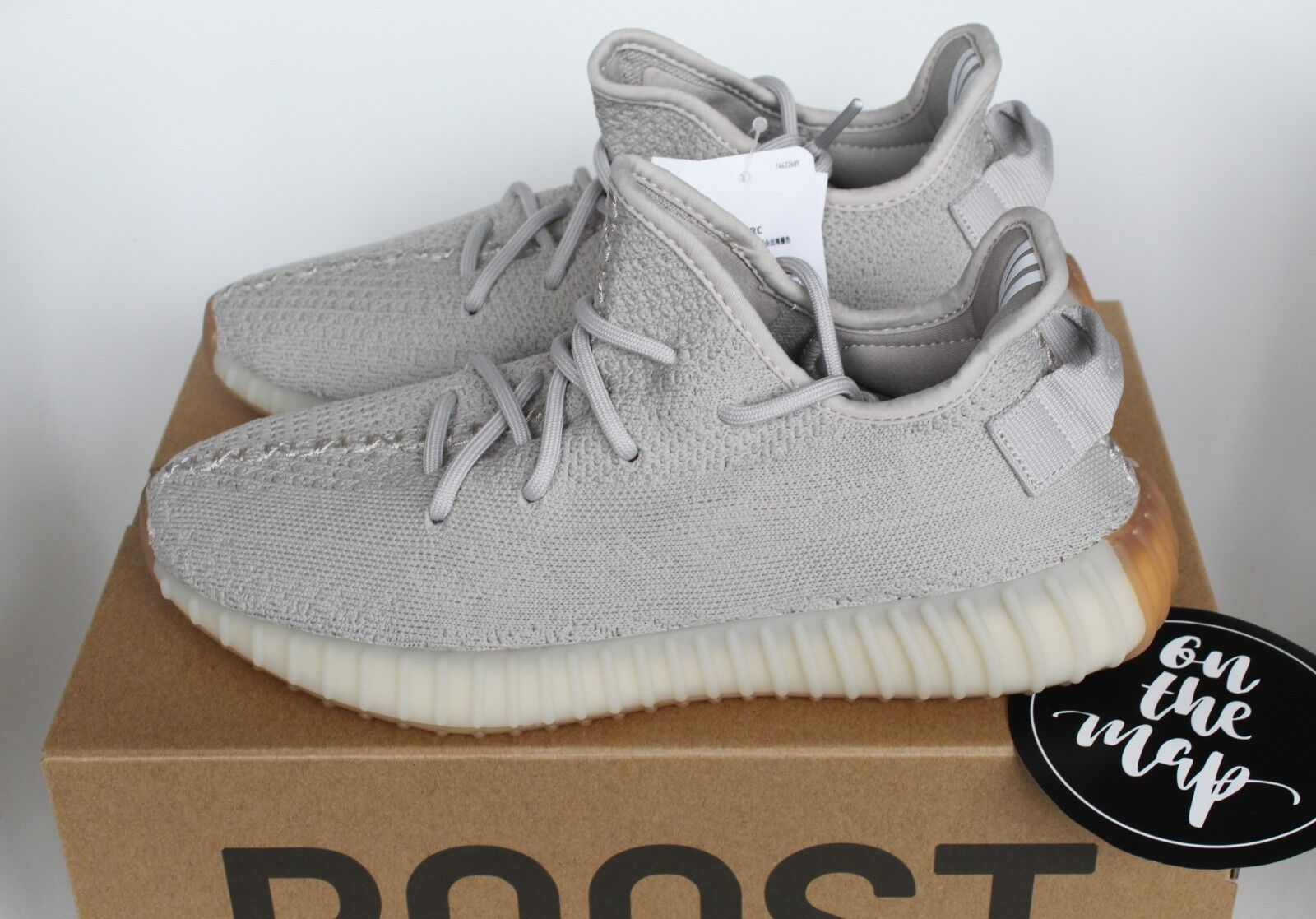 Adidas Yeezy Boost 350 V2 Sesame Grey Tan Beige US New