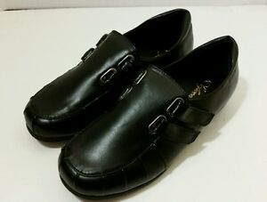 sofwear women's black slipon casual shoes 7m new  ebay