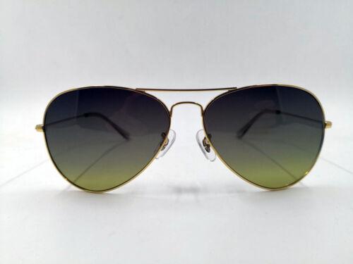 LE Hommes Lunettes de soleil polarisées Nylon Lentille Fashion Pilot cadre en métal Lecteur Lunettes