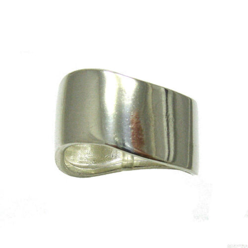 STERLING SILVER RING PLAIN BAND SOLID 925 EMPRESS R000004