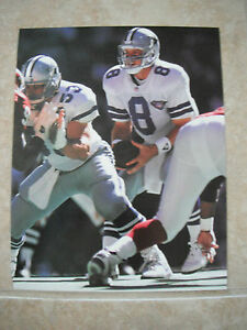 Troy Aikman Dallas Cowboys Football NFL Color Candid