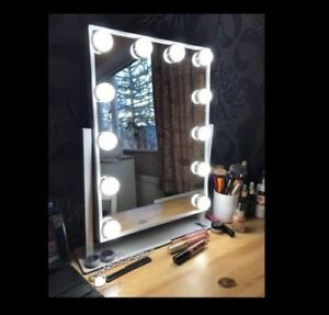 Image Is Loading Hollywood Mirror With Lights Led Light Up For