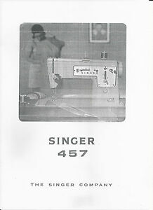 Singer 457 g 115 service manual pdf download.