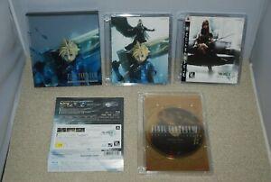 Blu-Ray-Final-Fantasy-VII-7-Advent-Ninos-con-Especial-Disco-DVD-Japon-FF7-Bd