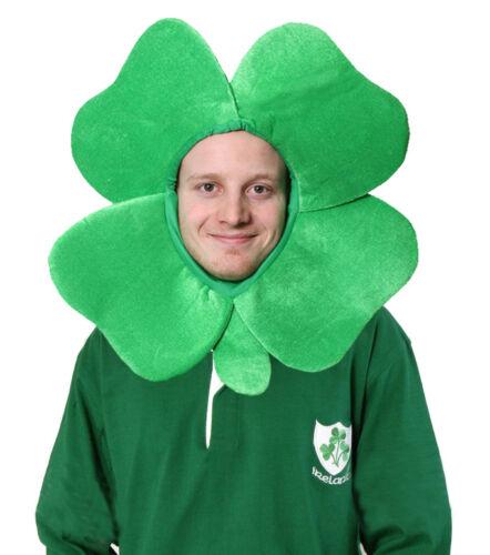 Peluche irlandais trèfle chapeau st patrick/'s day supporter shamrock accessoire robe fantaisie