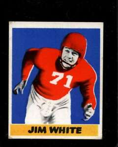 1948-LEAF-45-JIM-WHITE-VG-RC-ROOKIE-NY-GIANTS-X3238
