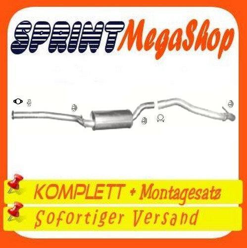 C-Max 2.0 TDCI 81//100 KW 110//136 PS mit DPF 2003-2010 Auspuff Abgasanlage 0319