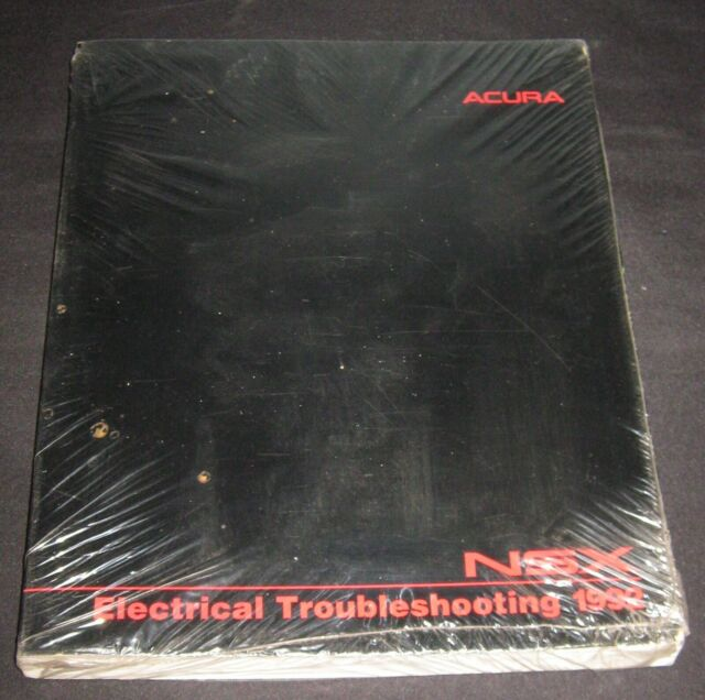 1992 ACURA NSX Electrical Troubleshooting Manual