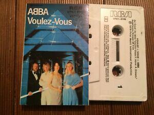 ABBA-VOULEZ-VOUS-1979-Australian-RCA-Cassette-C2