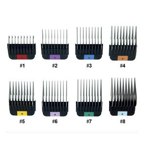 WAHL-Pet-1-8-Stainless-Metal-Combs-Guides-for-KMSS-KM2-KM5-KM10-Clippers