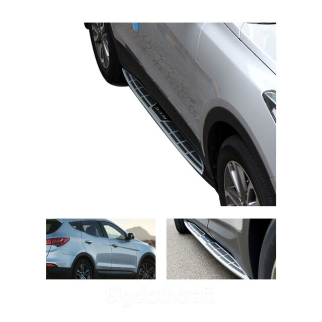 New Premium Side Step Nerf Cab OEM Running Board for Hyundai Santa Fe 2013