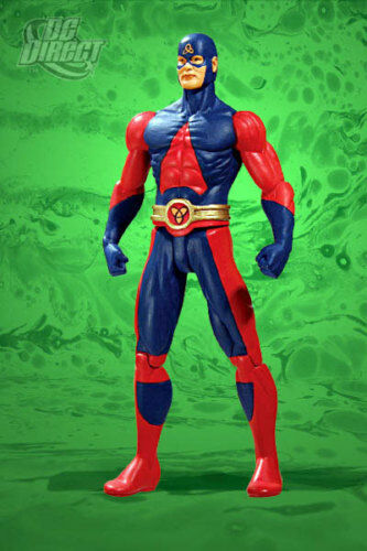 Atom figurine-first appearance series 4 dc