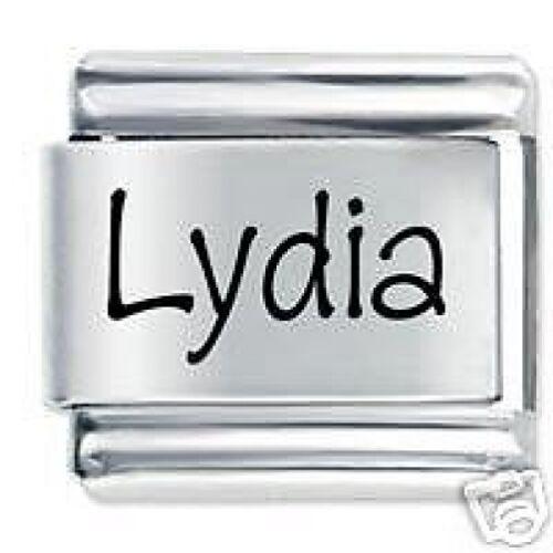 Lydia nom Daisy Charm Compatible avec Taille Classique Bracelet italien